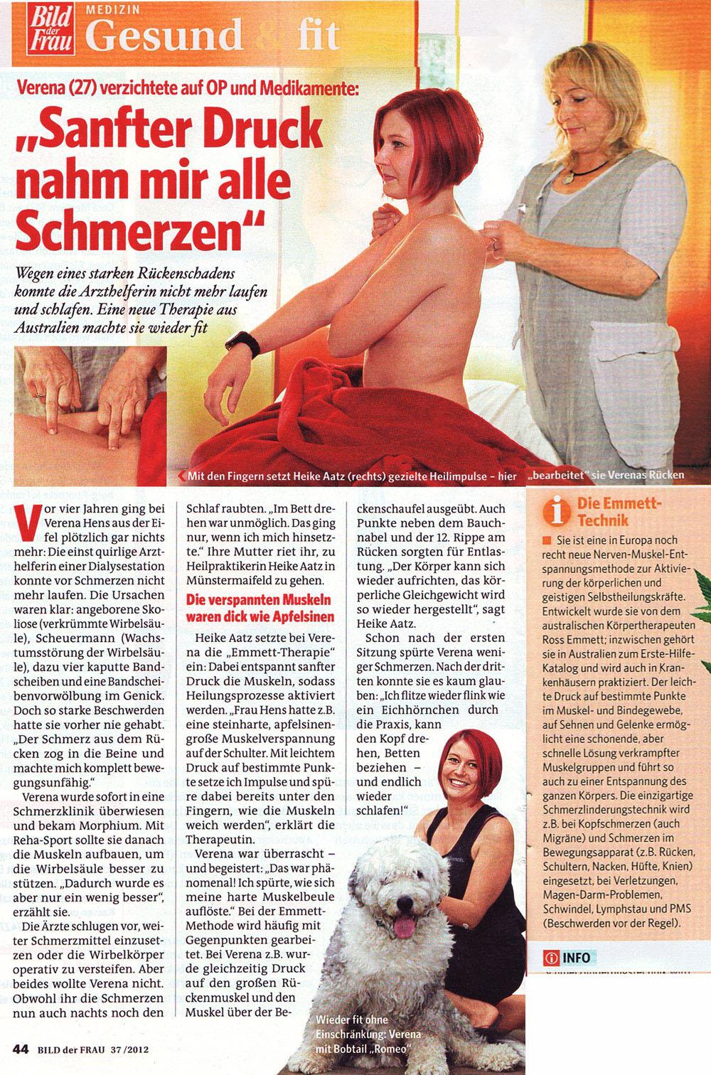 Emmett-Therapie Ergofuchs Passau