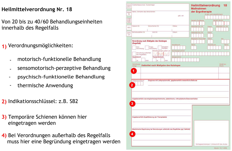 Heilmittelverordnung 18 Ausfüllhilfe Ergofuchs Passau